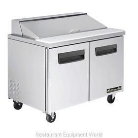 Blue Air Commercial Refrigeration BLPT48 Refrigerated Counter, Sandwich / Salad