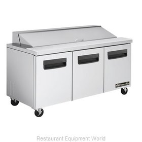 Blue Air Commercial Refrigeration BLPT72 Refrigerated Counter, Sandwich / Salad