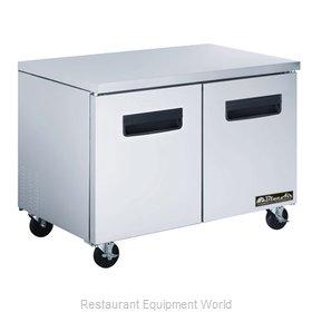 Blue Air Commercial Refrigeration BLUF36 Freezer, Undercounter, Reach-In