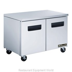 Blue Air Commercial Refrigeration BLUF48 Freezer, Undercounter, Reach-In