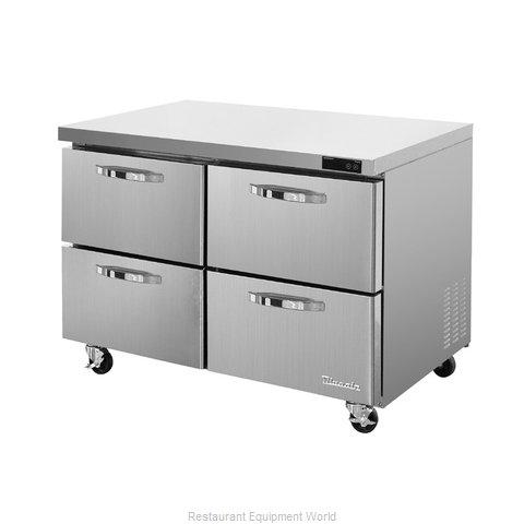 Blue Air Commercial Refrigeration BLUR48-D4-HC Refrigerator, Undercounter, Reach