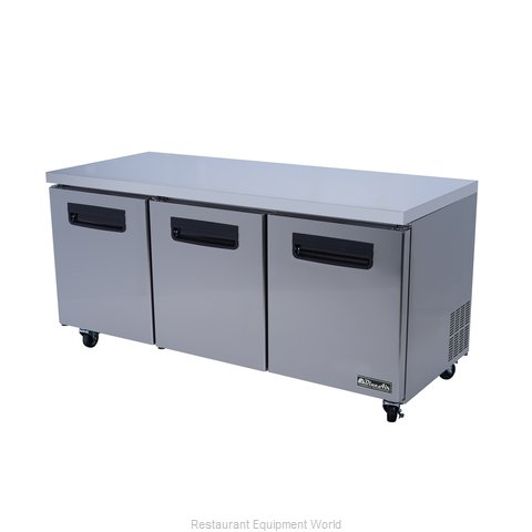 blue air commercial refrigeration blur72 refrigerator undercounter reach in - Commercial Undercounter Refrigerator
