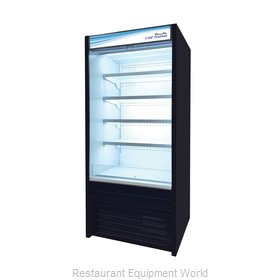 Blue Air Commercial Refrigeration BOD-36S Display Case, Refrigerated, Self-Serve