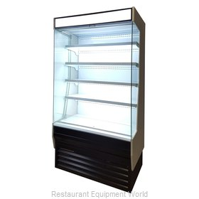 Blue Air Commercial Refrigeration BOD-48G Display Case, Refrigerated, Self-Serve