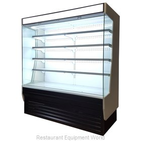 Blue Air Commercial Refrigeration BOD-72G Display Case, Refrigerated, Self-Serve