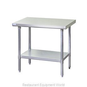 Blue Air EW2424 Stainless Steel Work Table 24 Inches