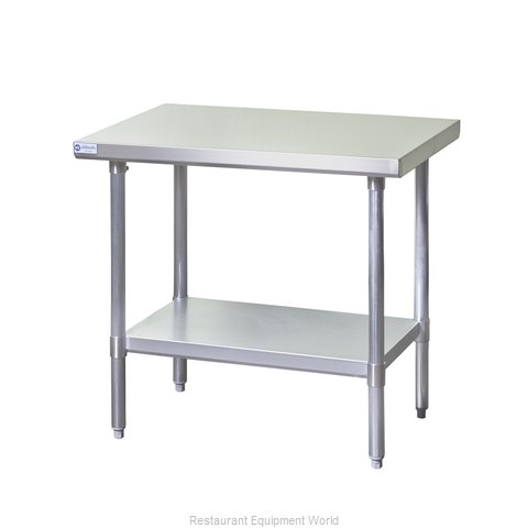Blue Air Commercial Refrigeration EW Work Table - Restaurant equipment stainless steel table