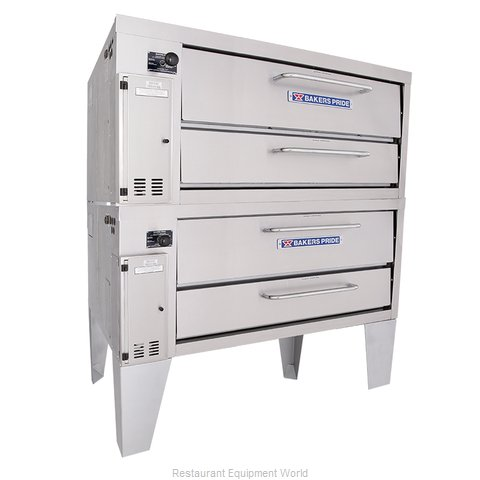 Bakers Pride 152 Pizza Oven Deck-Type Gas