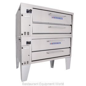 Bakers Pride 152 Pizza Oven, Deck-Type, Gas