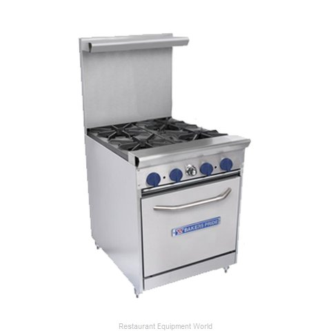 Bakers Pride 24-BPV-4B-S20 Range 24 4 open burners