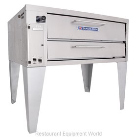 Bakers Pride 4151 Pizza Oven, Deck-Type, Gas