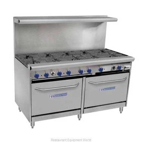 Bakers Pride 60-BPV-10B-S26 Range 60 10 Open Burners