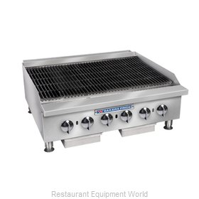 Bakers Pride BPHCB-2436I Charbroiler, Gas, Countertop