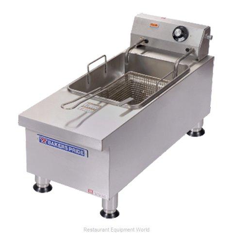 Bakers Pride BPHEF-15SI Fryer, Electric, Countertop, Full Pot