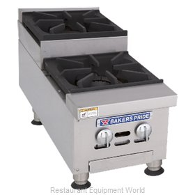 Bakers Pride BPHHPS-212I Hotplate, Countertop, Gas