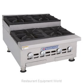 Bakers Pride BPHHPS-424I Hotplate, Countertop, Gas