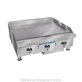 Bakers Pride BPHMG-2472I Griddle, Gas, Countertop