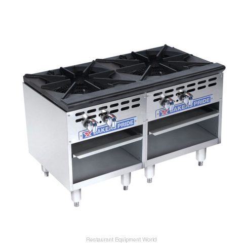Bakers Pride BPSP-18-2-D Stock Pot Range Gas