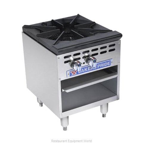 Bakers Pride BPSP-36-2D Range, Stock Pot, Gas