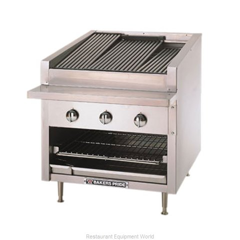 Bakers Pride C-24R Charbroiler, Gas, Countertop (Magnified)