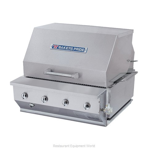 Bakers Pride CBBQ-30BI Charbroiler Gas Outdoor Grill