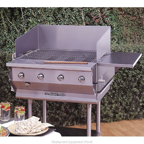 Bakers Pride CBBQ-30S Charbroiler, Gas, Outdoor Grill (Magnified)