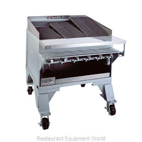 Bakers Pride CH-6GS CH Series Extra Heavy Duty Glo-Store Char Broiler