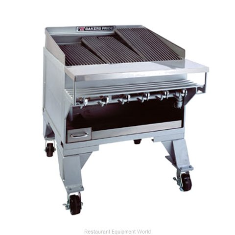Bakers Pride CH-8 Charbroiler, Gas, Countertop
