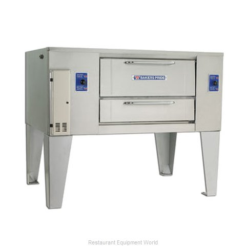Bakers Pride D-125 Oven, Deck-Type, Gas