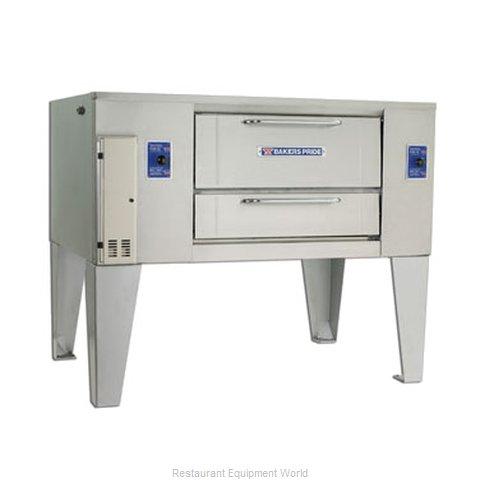 Bakers Pride D-250 Oven, Deck-Type, Gas