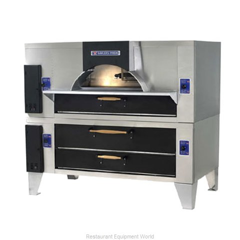 Bakers Pride FC-616/Y-600 Pizza Oven, Deck-Type, Gas