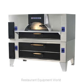 Bakers Pride FC-816/Y-800BL Pizza Oven, Deck-Type, Gas