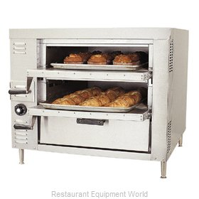 Bakers Pride GP-61 Oven, Gas, Countertop