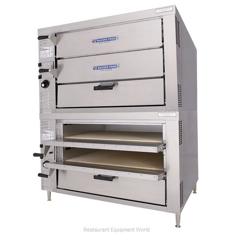 Bakers Pride GP-62 Oven, Gas, Countertop