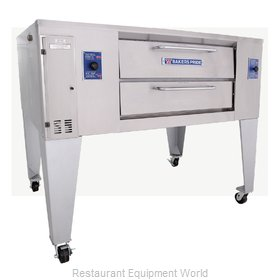 Bakers Pride GS-805 Pizza Oven, Deck-Type, Gas