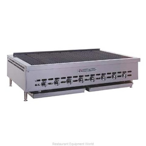 Bakers Pride HDCB-2460 Charbroiler Gas Counter Model