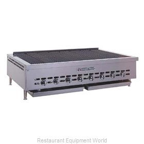Bakers Pride HDCB-2472 Charbroiler Gas Counter Model