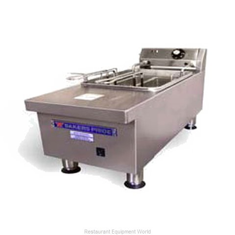 Bakers Pride HDEF-15S Fryer Counter Unit Electric Full Pot
