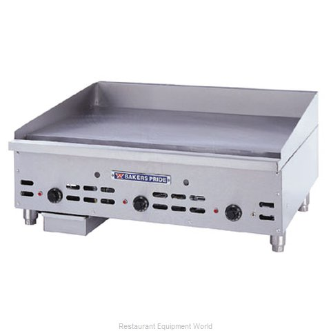 Bakers Pride HDMG-2424 Griddle Counter Unit Gas