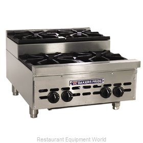 Bakers Pride HDOBS-424 Hotplate Counter Unit Gas