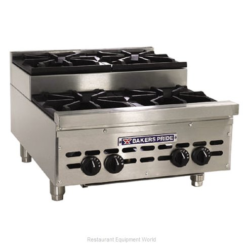 Bakers Pride HDOBS-636 Hotplate Counter Unit Gas
