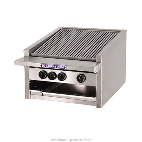 Bakers Pride L-24R L-R Series Low Profile Countertop Radiant Char Broi (Magnified)