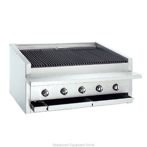 Bakers Pride L-36R Charbroiler, Gas, Countertop (Magnified)