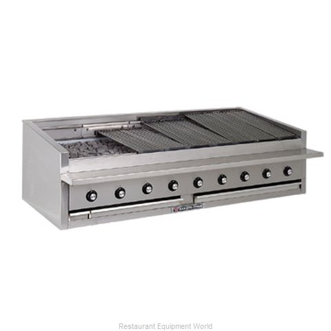 Bakers Pride L-60GS L-GS Series Low Profile Countertop Glo-Stone Char