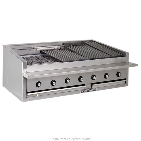 Bakers Pride L-60R L-R Series Low Profile Countertop Radiant Char Broi