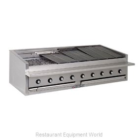 Bakers Pride L-84R L-R Series Low Profile Countertop Radiant Char Broi