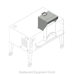 Bakers Pride PB-24 Exhaust Hood