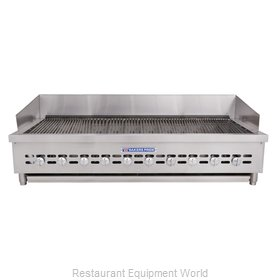 Bakers Pride XX-10 Charbroiler, Gas, Countertop