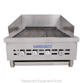 Bakers Pride XX-4 Charbroiler, Gas, Countertop