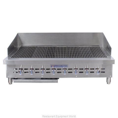 Bakers Pride XX-8 XX Series Countertop Gas Radiant Char Broilers